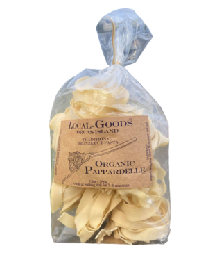Orcas Island Pappardelle Pasta