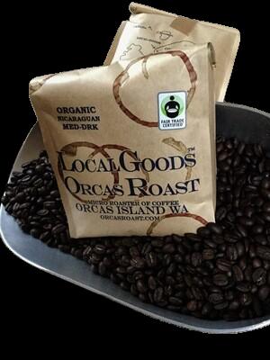 Orcas Island Roasted Organic Coffee Beans