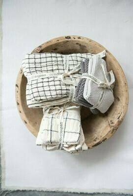 Cotton Napkins, Natural Set of 4