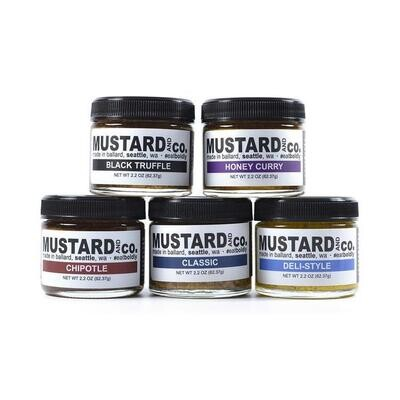 Mustard and Co Five Flavor Gift Tube