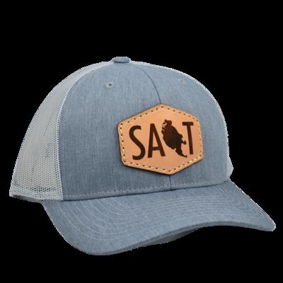 Leather Patch Salt Hat