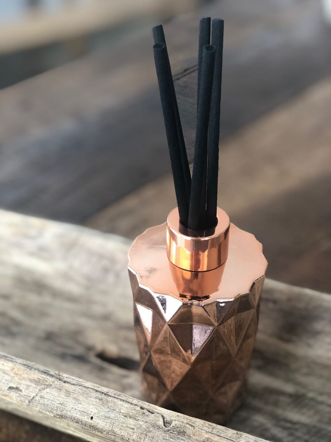 Diamond Reed Diffuser - Rose Gold