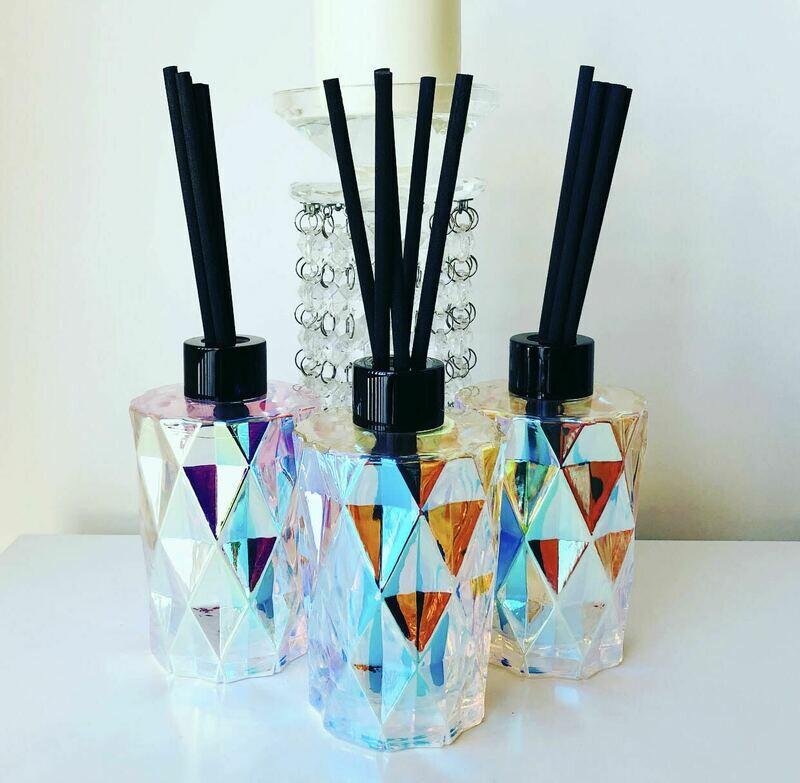 Diamond Reed Diffuser - Iridescent