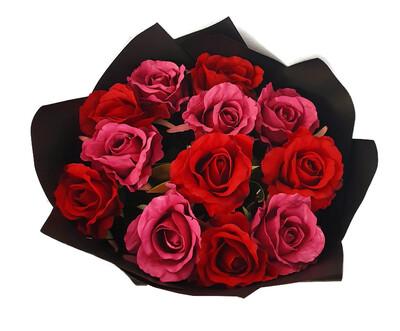 Pink & Red Half Dozen (image displays Dozen)