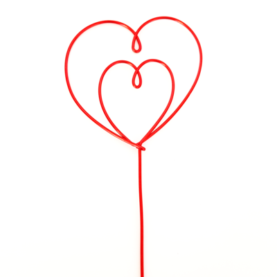 Double Heart Wire
