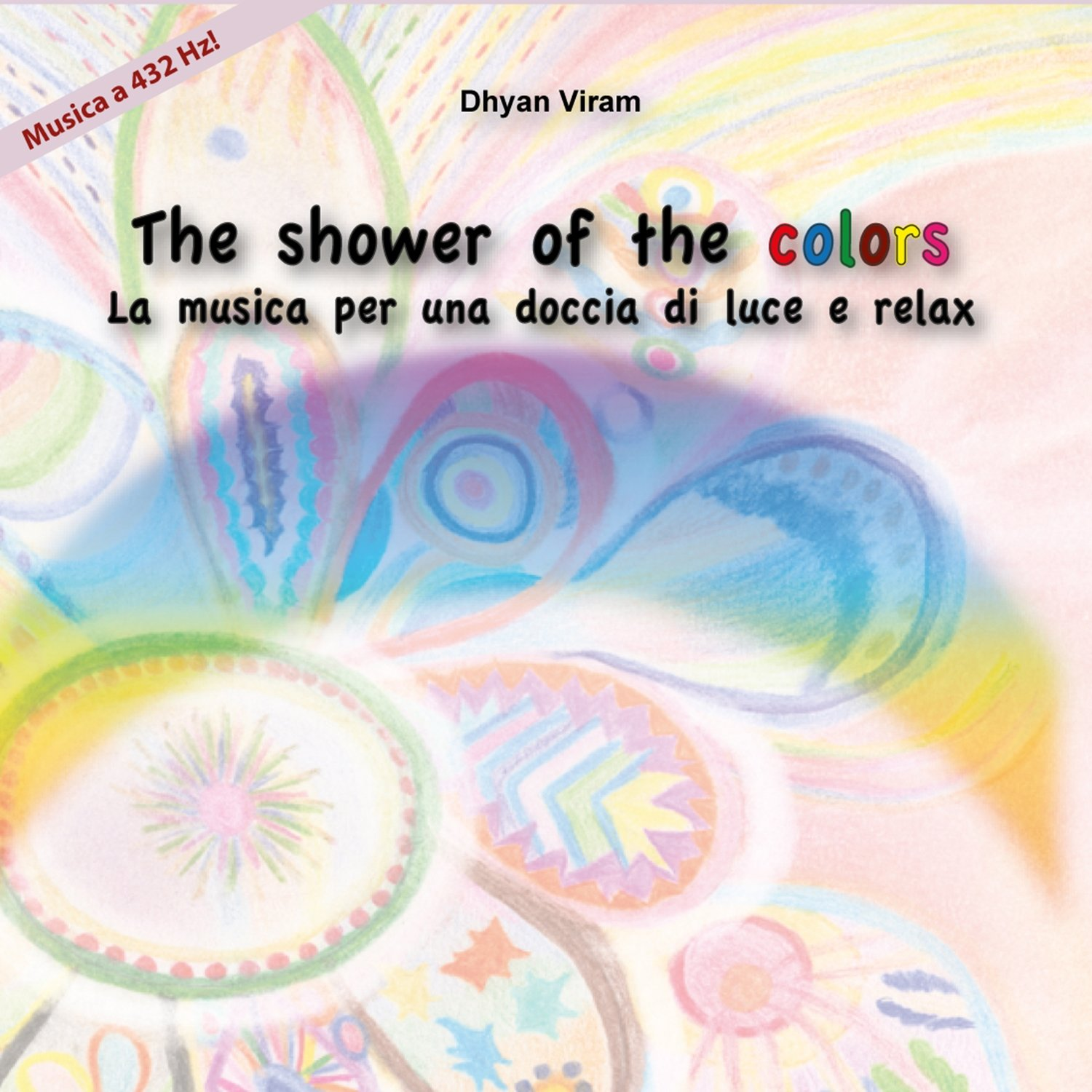 The shower of the colors