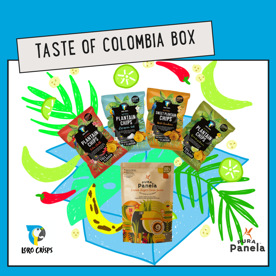 The Taste of Colombia Box
