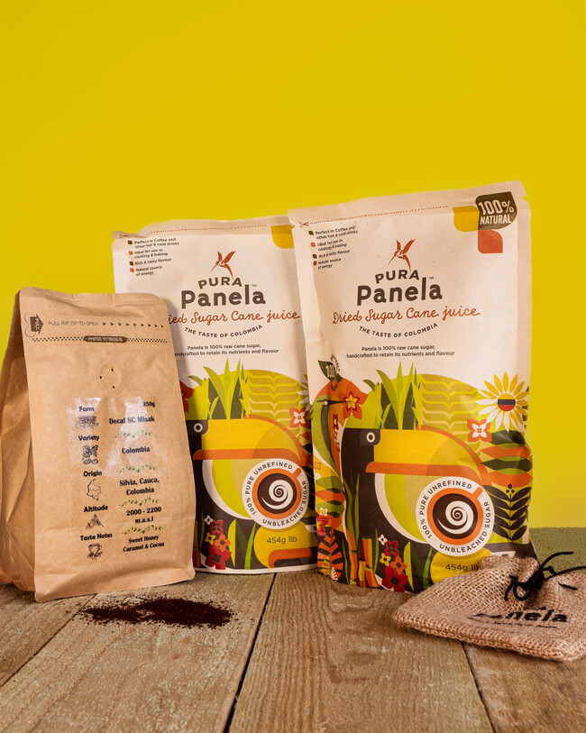 Cafe Campesino.  Coffee & Panela