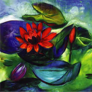 Floating Lotus - Limited edition print