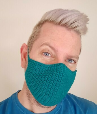 Covid-19 Fitted Face Mask Crochet Pattern