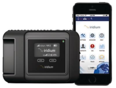 Спутниковый терминал (телефон) Iridium GO!