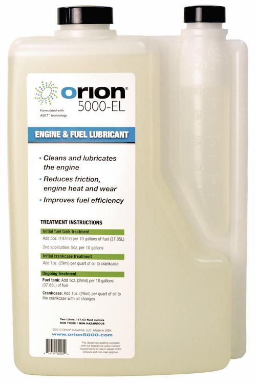 Orion 5000-EL - Two Liter Bottle - Treats 670 Gallons of Fuel!