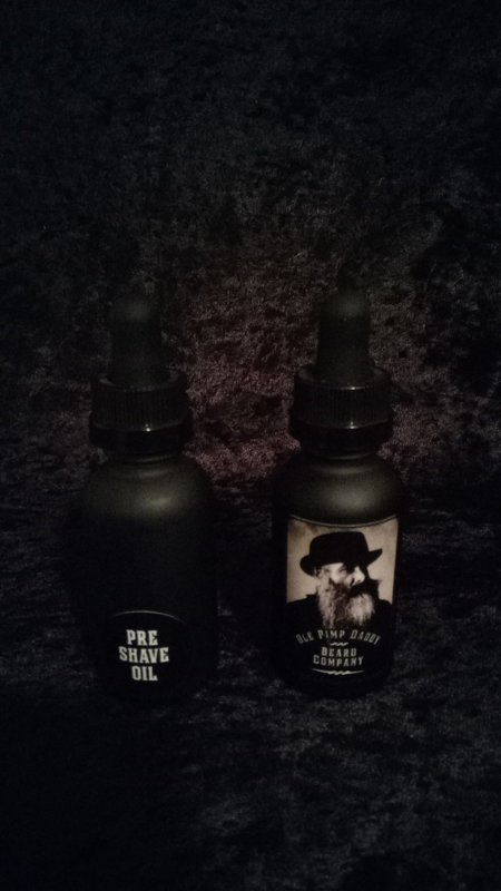 Ole Pimp Daddy Beard Company Pre-Shave Oil