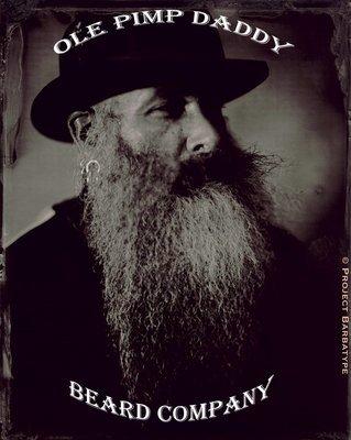 Ole Pimp Daddy Beard Company Basket