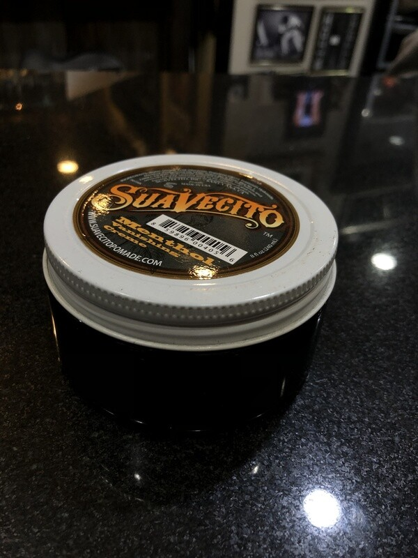 Suavecito Menthol Vanishing Creme