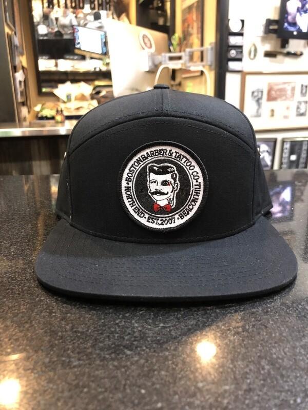 BBTC Black 7-Panel Hat