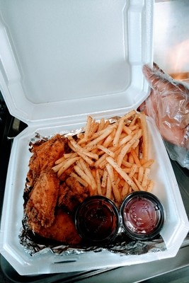 Combo #1 (Six Wings + Fries)