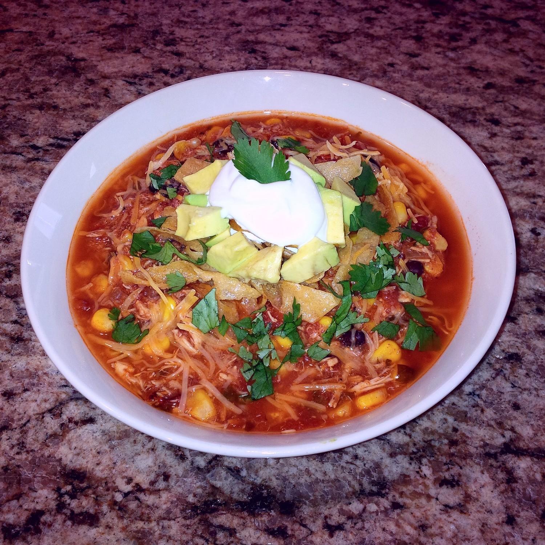 Organic Chicken Tortilla Soup