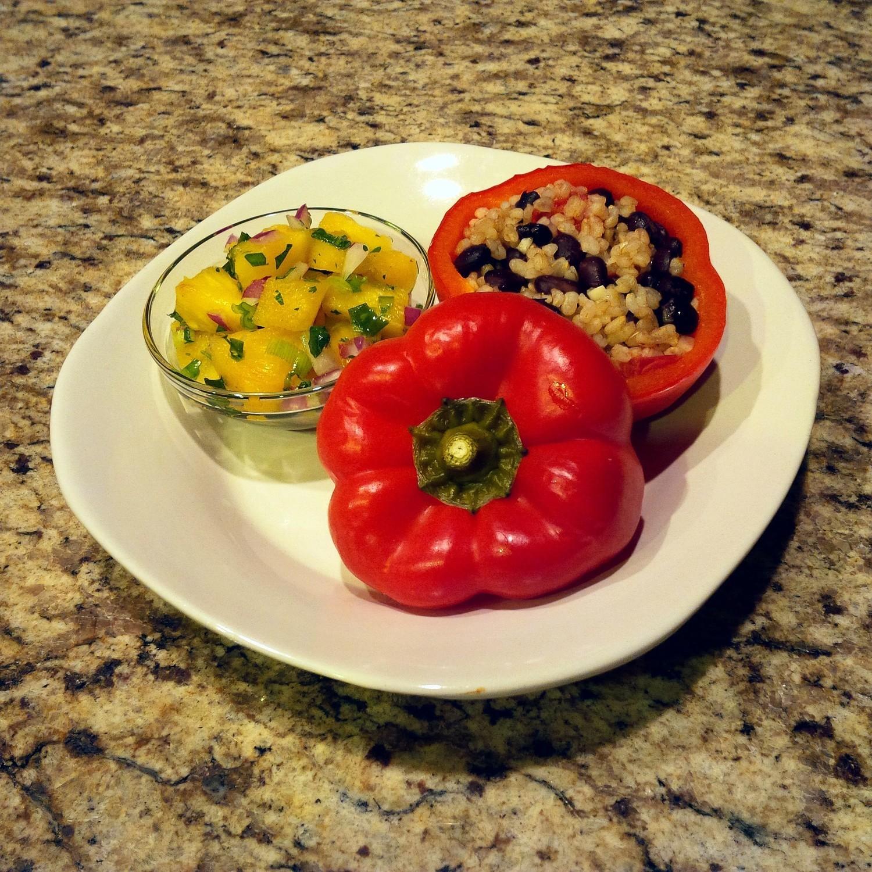 Organic Stuffed Bell Peppers