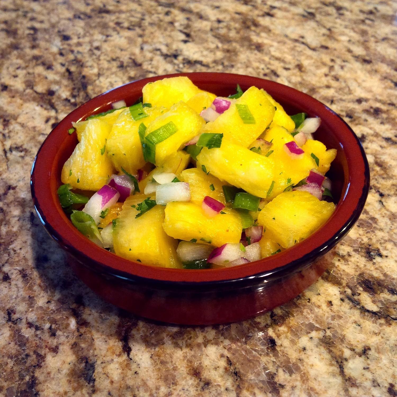 Organic Pineapple Salsa