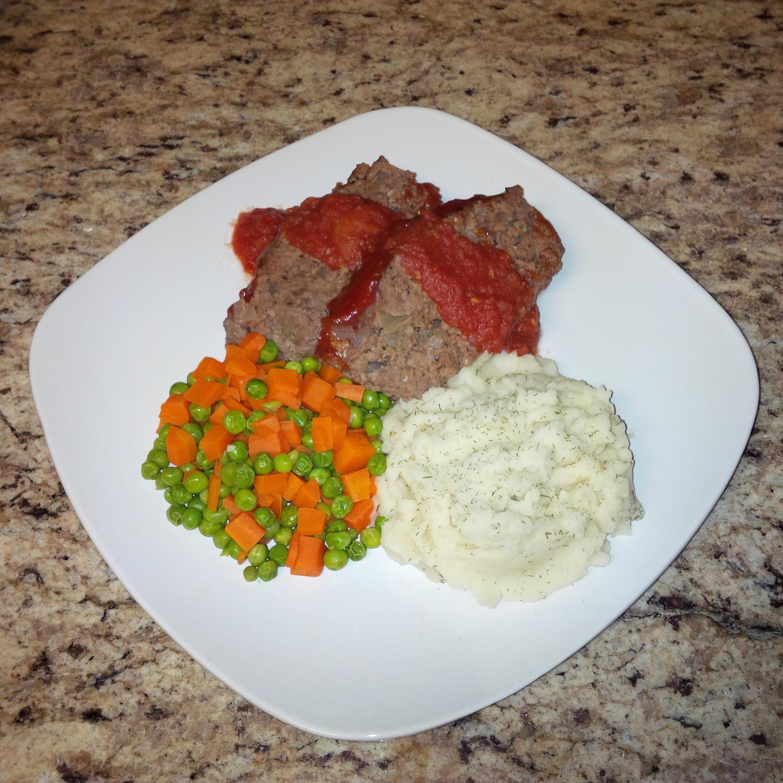 Organic Homemade Meatloaf
