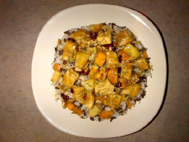Organic Chicken Pecan w/ Wild Rice