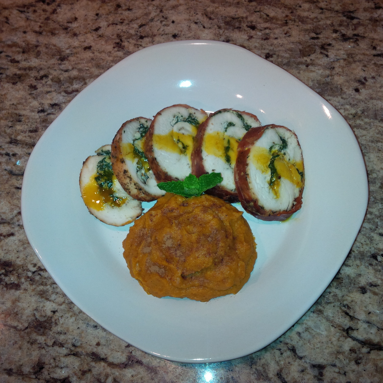 Spinach & Ricotta Stuffed Chicken Breast