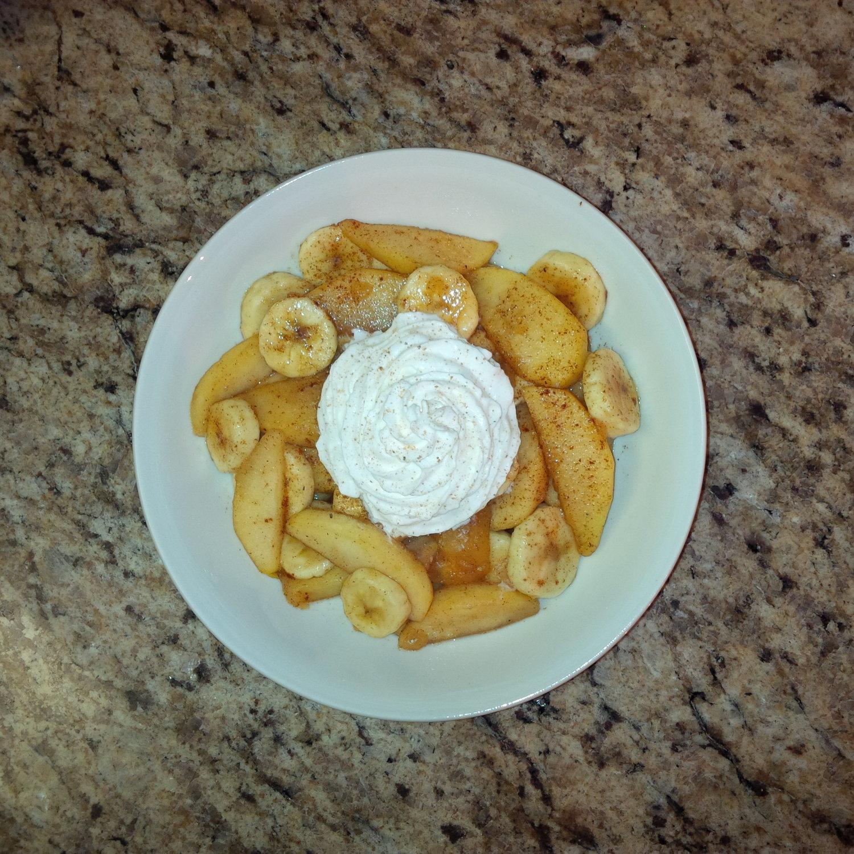 Organic Cinnamon Apple Banana Delight