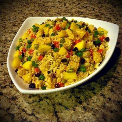 Thai Pineapple Fried Rice w/ Chicken
