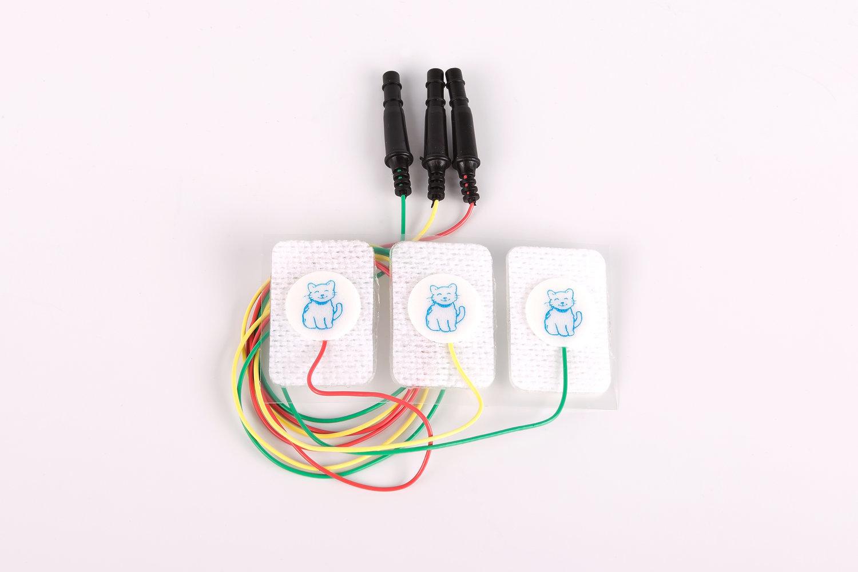 EKG-Elektroden Kinder 3er Satz