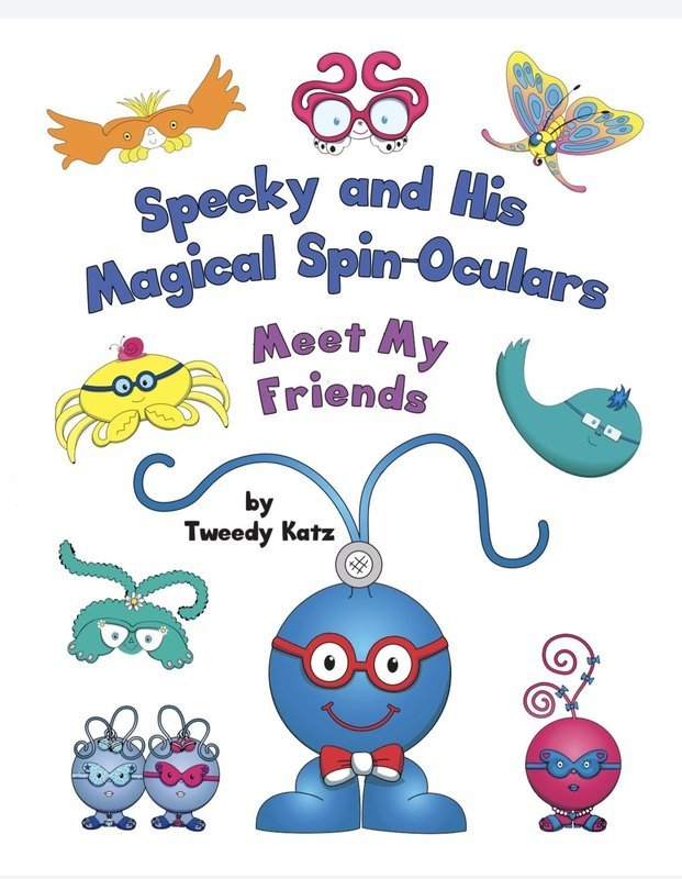 Specky and His Magical Spin-Oculars: Meet My Friends (Signed by Author)