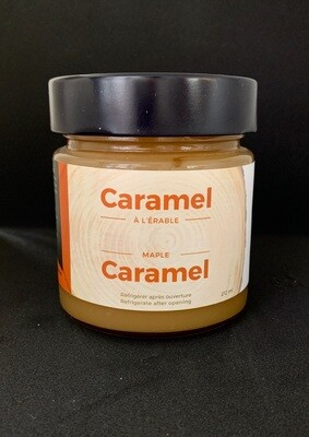 Caramel 212ml pot en verre