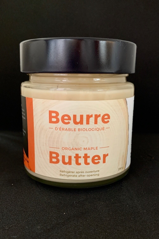 Beurre d'érable biologique 290g pot en verre