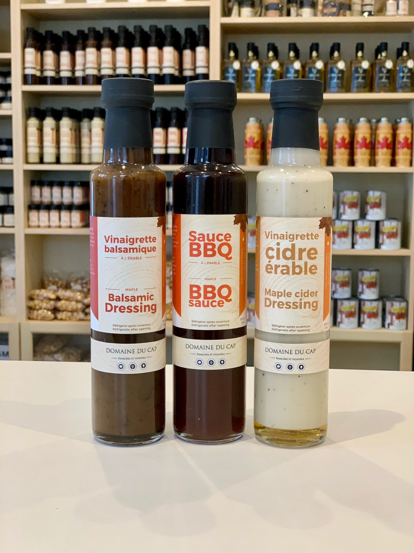 Emballage cadeau - Trio de sauces!