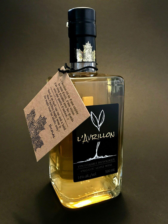 l'Avrillon - vin d'érable biologique
