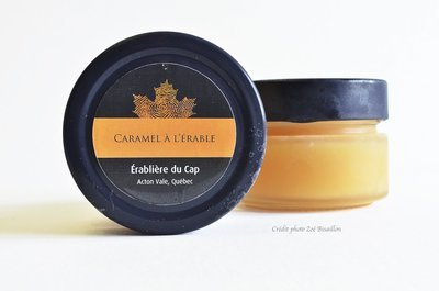 Caramel 106ml pot en verre