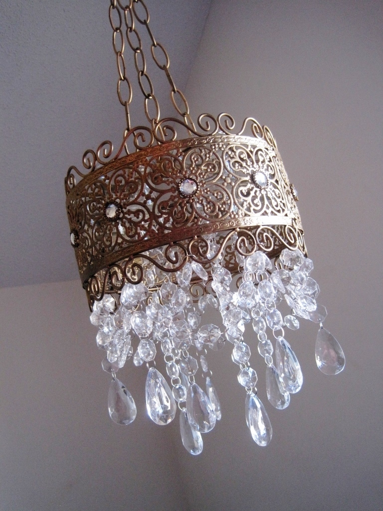 Candle Chandelier The French Brocaide