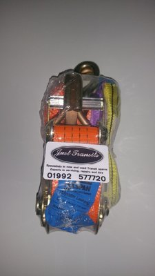 1 x Recovery ratchet straps and chokers sys2000