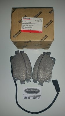 Genuine Ford Transit mk7 2006 to 2014 rwd and fwd rear break pads