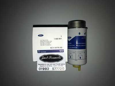 Genuine Ford Transit MK7 2006 to 2014 fuel filter