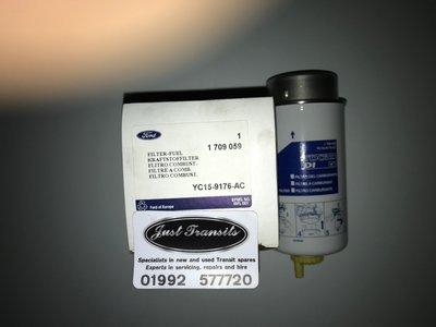 Genuine Ford Transit MK6 2000 to 2006 fuel filter
