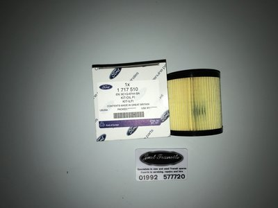 Genuine Ford Transit MK7 2006 to 2014 paper filament oil filter