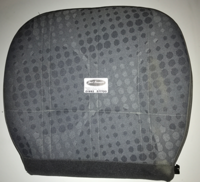 Ford Transit MK7 2006 to 2014 reupholstered seat base in tomy trim pattern