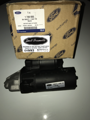 Genuine  Ford Transit MK7 2006 to 2014 new starter motor