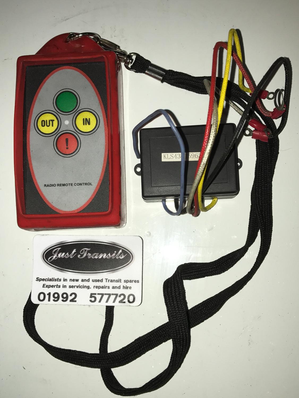 New wireless winch remote control and case