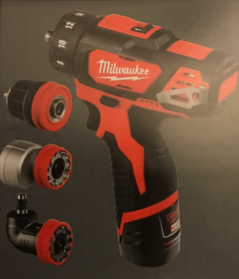Milwaukee M12 sub compact 4 in 1 Drill / Driver