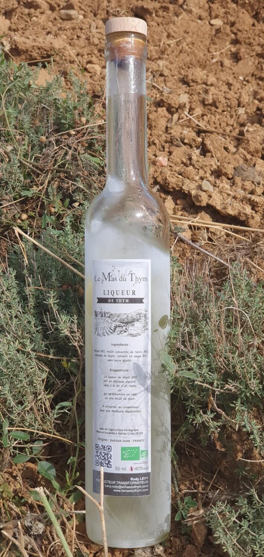 """""""Trou Occitan"""" liqueur de thym  0.500CL"""