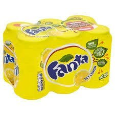 Fanta lemon 6-pack