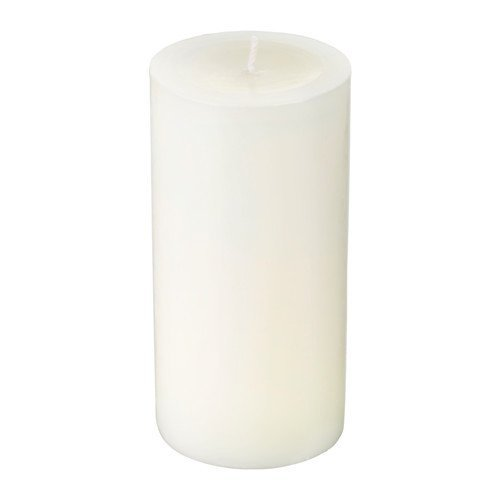 Candle 13cm white
