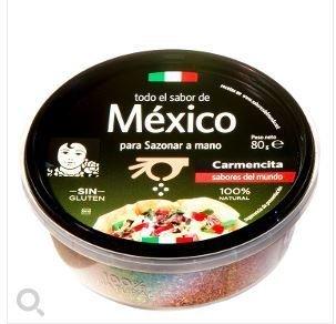 Mexican seasoning SAZONADOR MÉXICO SIN GLUTÉN CARMENCITA 80 G